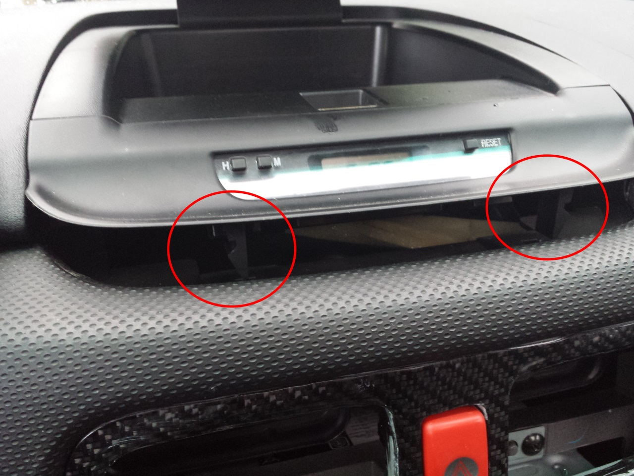 how to change the clock on a 2011 subaru outback